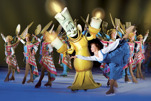 disney on ice belle