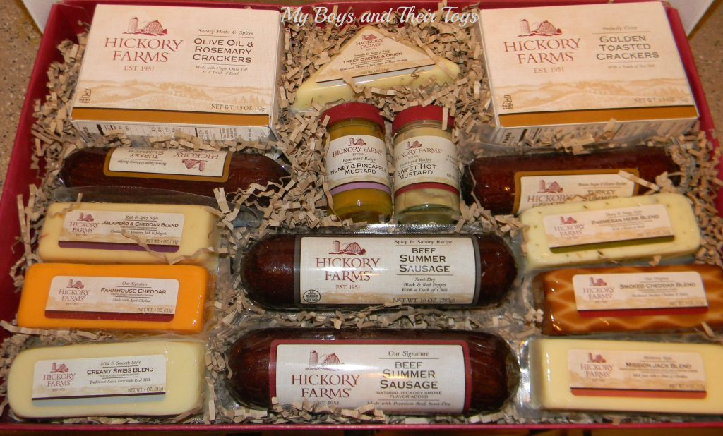 Hickory farms gift basket giveaway