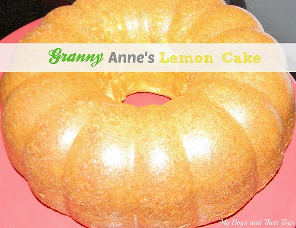granny anne's lemon cake