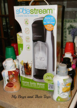 SodaStream with flavors