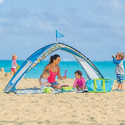b4377246a6 How to Keep your Family Cool with the Sun Smarties Beach Cabana
