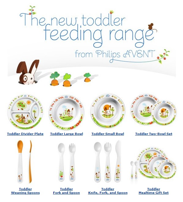 Avent toddler feeding