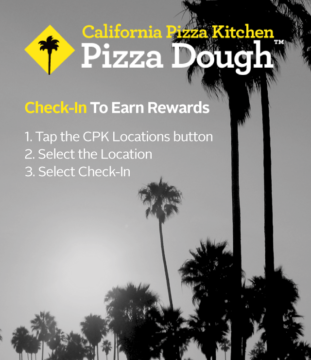 For every $ spent at CPK, they will receive $5 of Pizza Dough Rewards that can be redeemed on their next visit. To join, go to skywestern.ga, download the Pizza Dough Rewards App or sign up with a server. For more information on California Pizza Kitchen visit skywestern.ga
