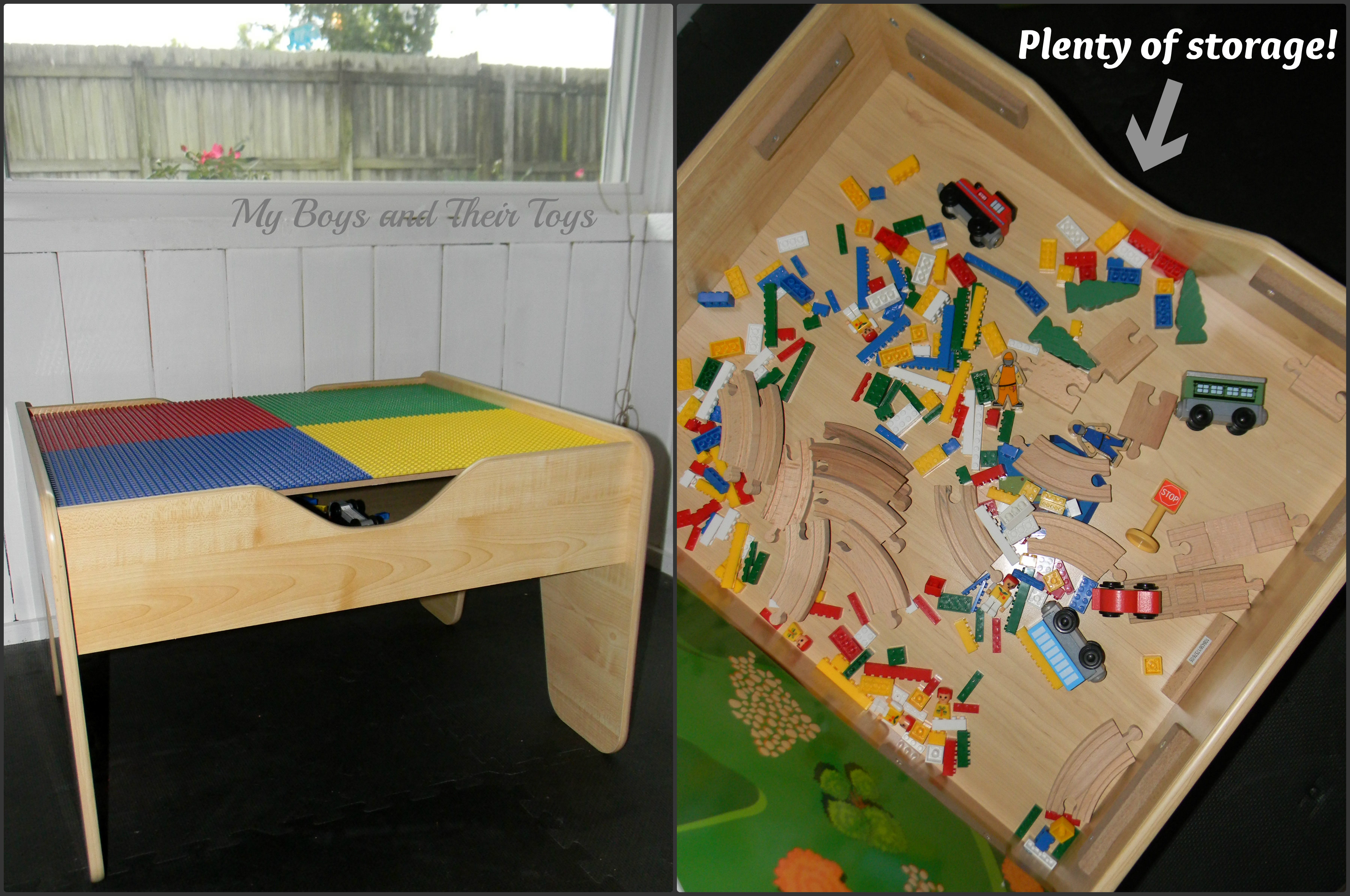 Charmant 2 In 1 Activity Table