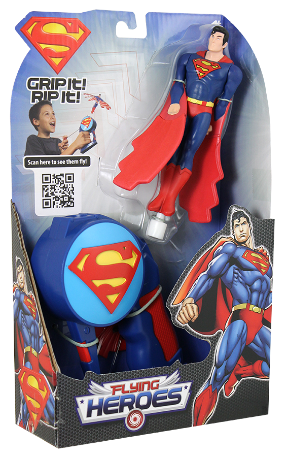 Flying Toys For Boys : Superman flying heroes review and giveaway spon