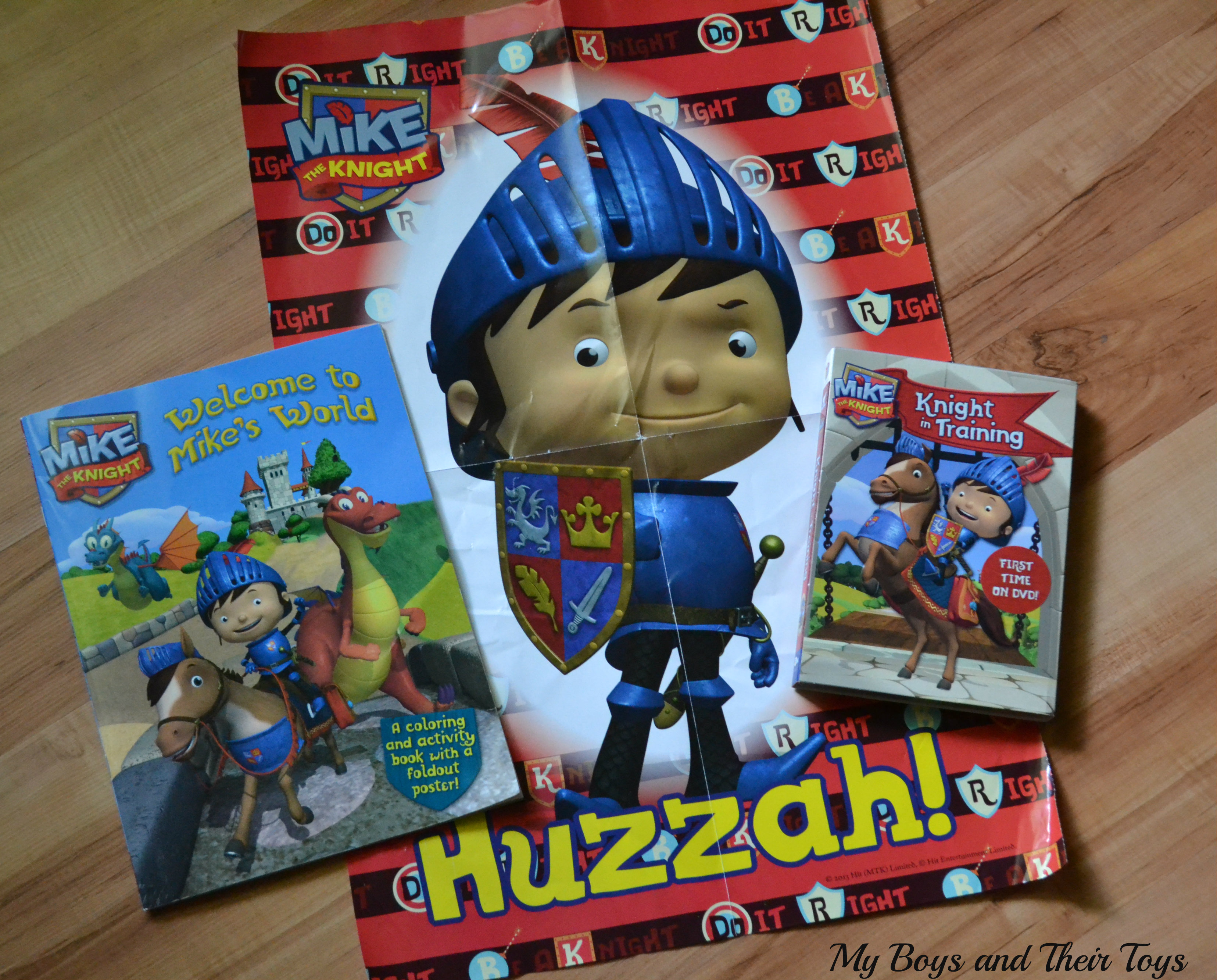 mike and mike sweepstakes mike the knight knight in training review giveaway 8761