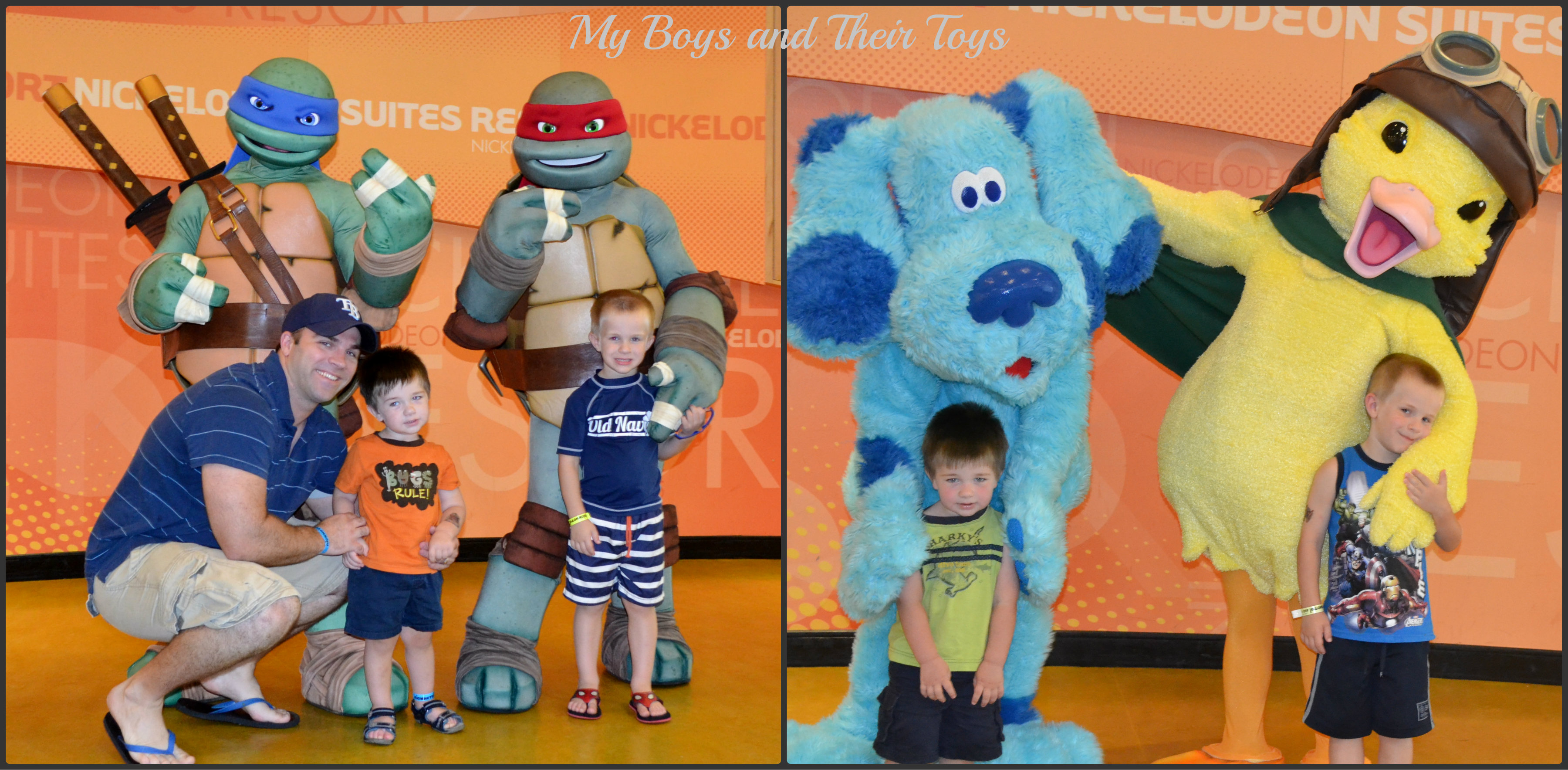 Book a stay at nickelodeon suites resort review for Character hotel