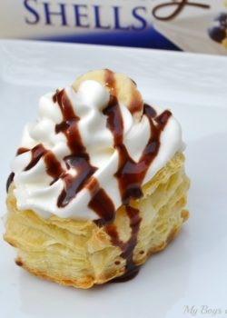 banana cream puffs