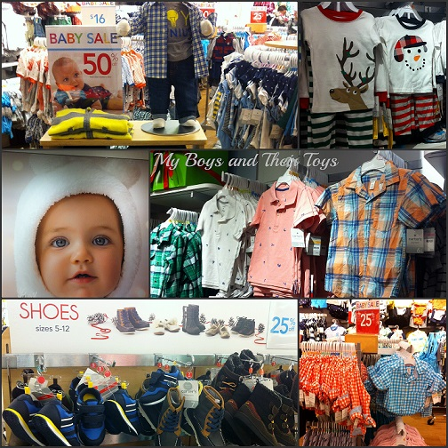 Carter's clothing  store