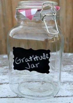 New Year's gratitude jar