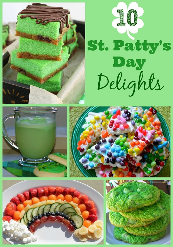 st pattys day delights