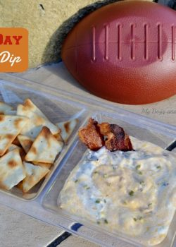 game day bacon dip