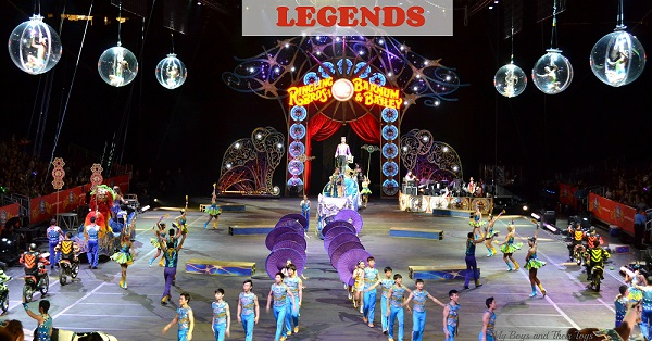 legends circus show
