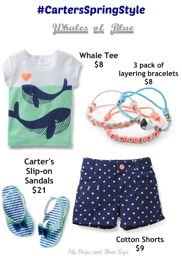 Carter's spring girl outfit