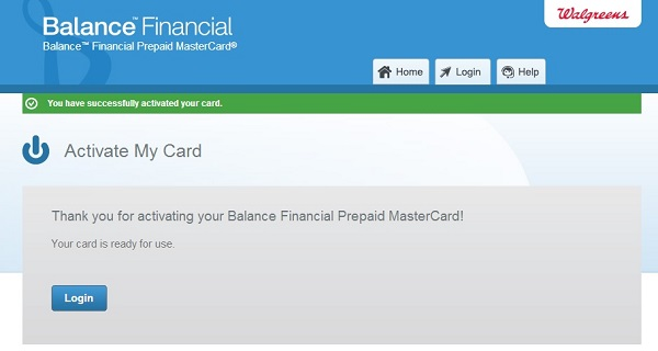 bal financial confirmation
