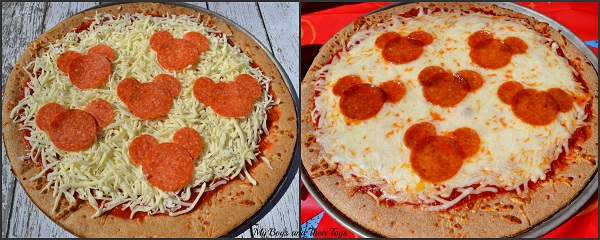 Mickey Mouse Clubhouse pizza