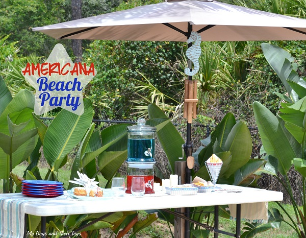 Americana beach party ideas