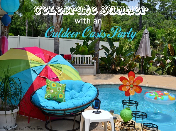 Outdoor Oasis Party