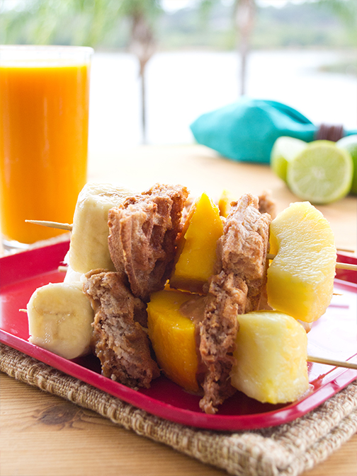 Tropical Breakfast Skewers