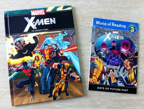 Marvel X-men books