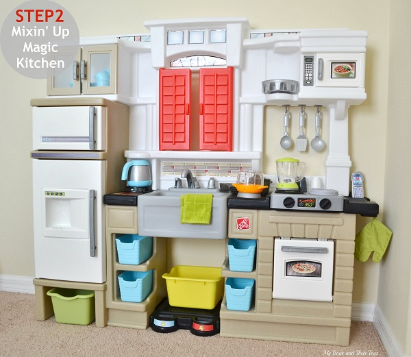 Step2 Mixin\' Up Magic Play Kitchen Review - My Boys and ...
