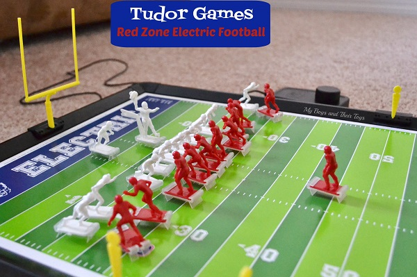 Football Toys For Boys : Tudor games electric football tabletop games giveaway my