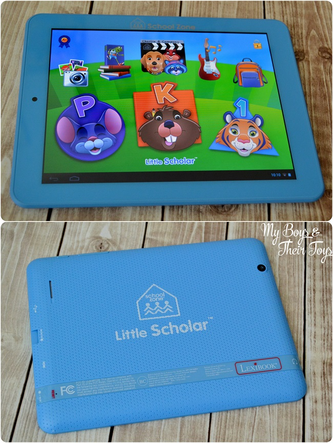 Early learning tablet