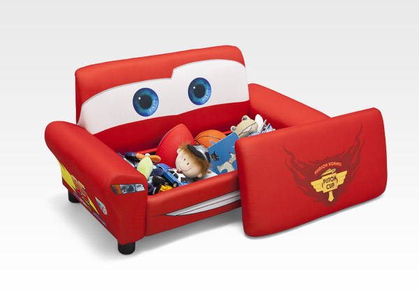 Lightning Mcqueen Sofa With Storage Review My Boys And