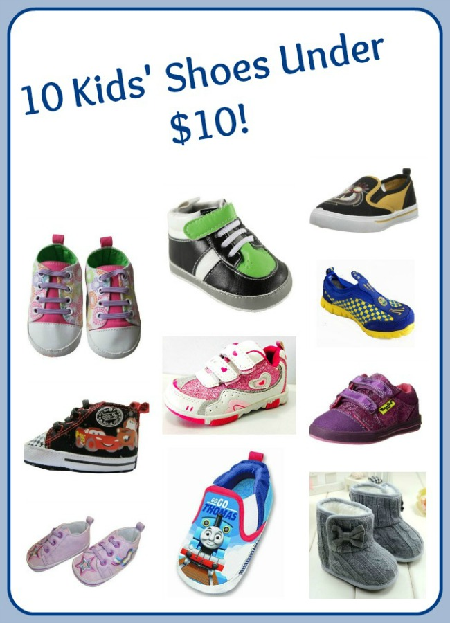 Kids Shoes Under $10