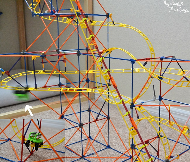 Knex Hyperspeed Hangtime Roller Coaster Building Set My Boys And