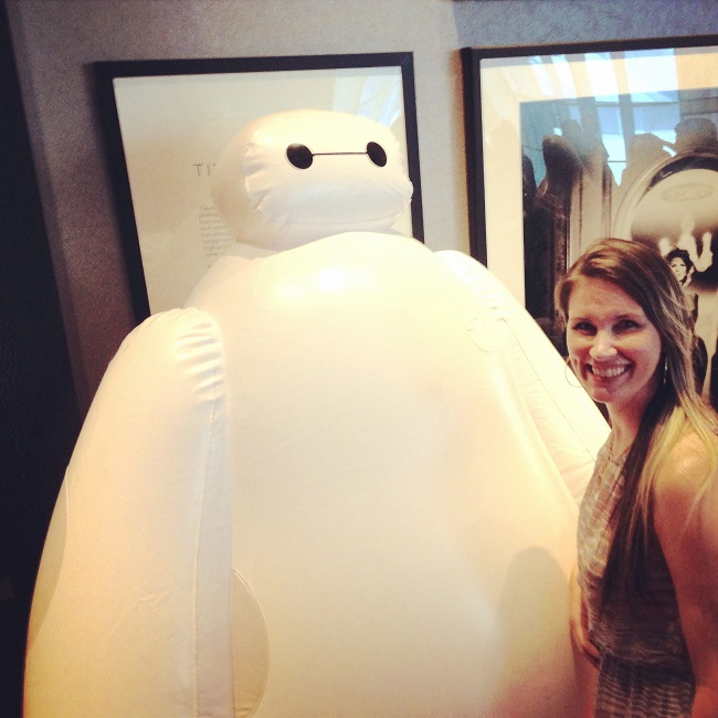 voice of baymax