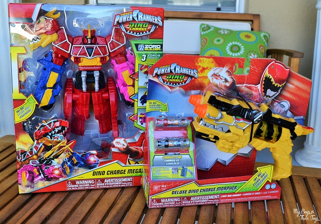 Dino charge toys