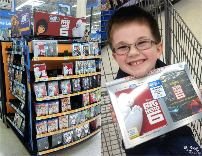 Walmart Toys For Big Boys : Baymax rice krispies treats my boys and their toys