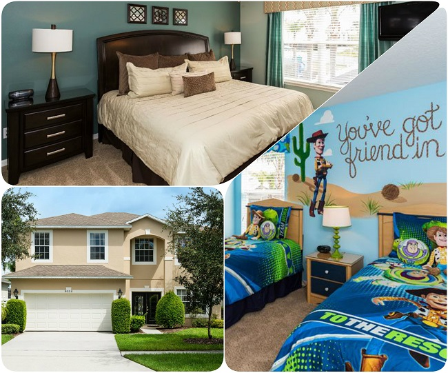 vacation rental homes near Disney