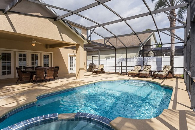 all star vacation homes pool