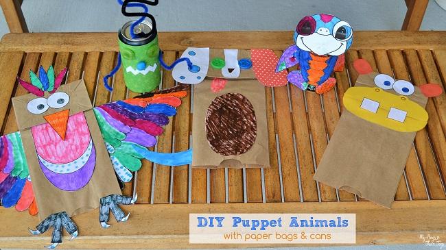 DIY puppet animals