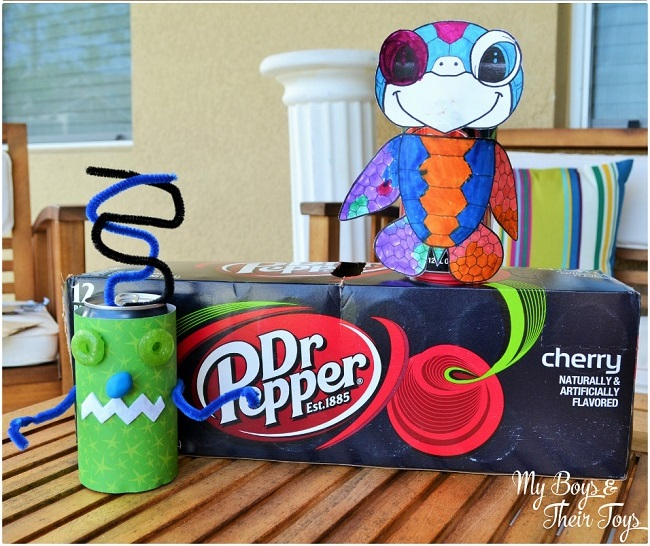 diy puppet cans