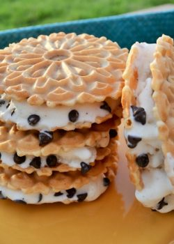 nutella pizzelle