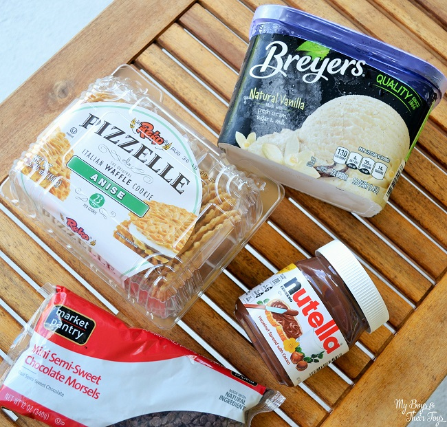 pizzelle ingredients