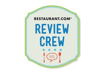 2015 Restaurant.com Review Crew Blogger Badge