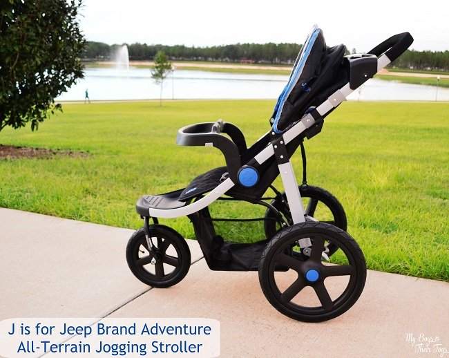 J is for Jeep nd Adventure All-Terrain Jogging Stroller Review ...