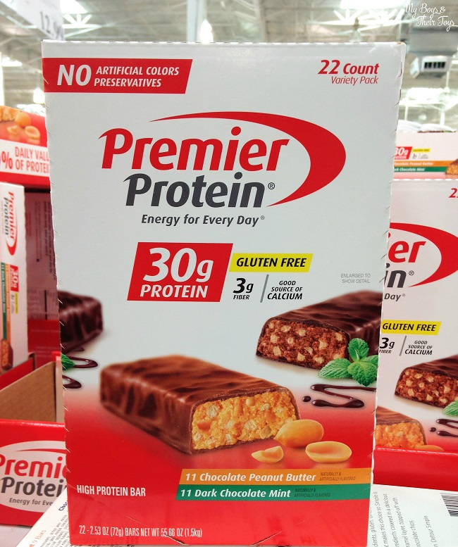 Premier Protein Bars Now At Costco My Boys And Their Toys