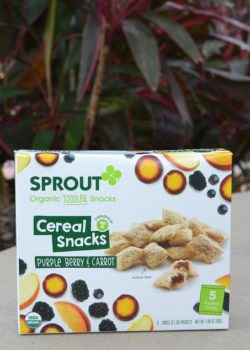 sprout organic toddler snack