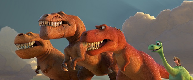 arlo and t-rex