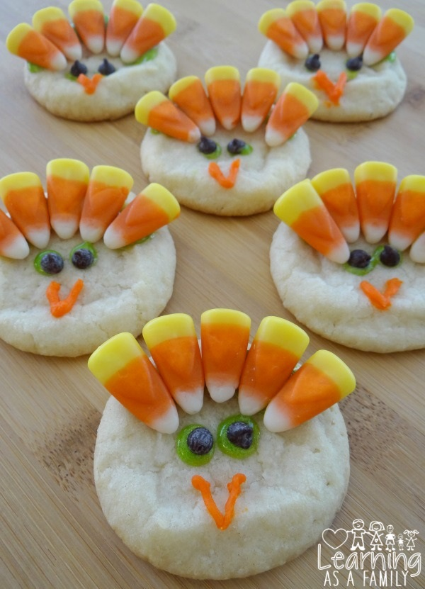 craft Turkey-Cookies