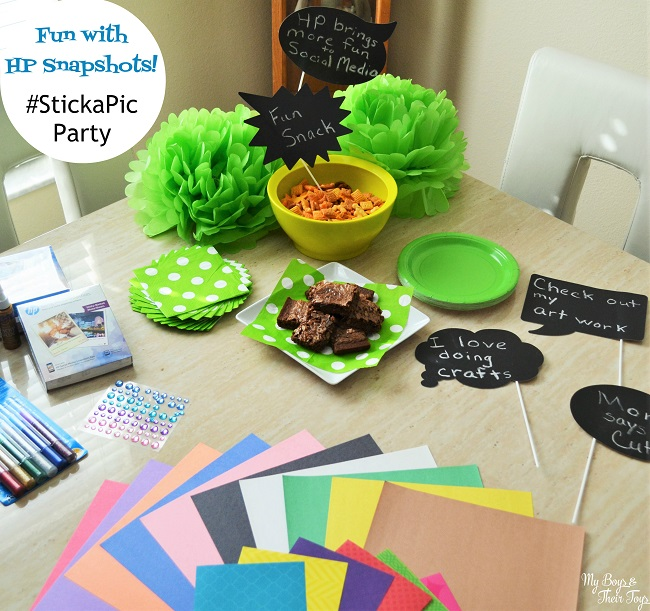 #stickapic party