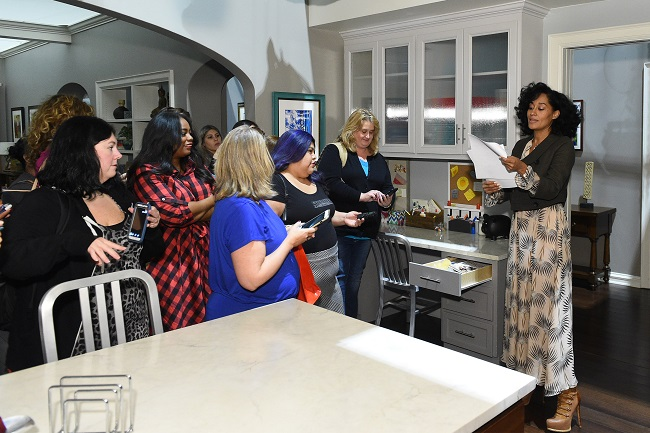 blackish set visit