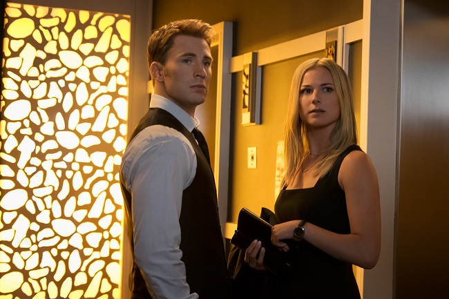 Sharon Carter and Captain America