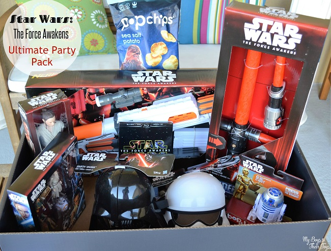 Star Wars The Force Awakens party pack