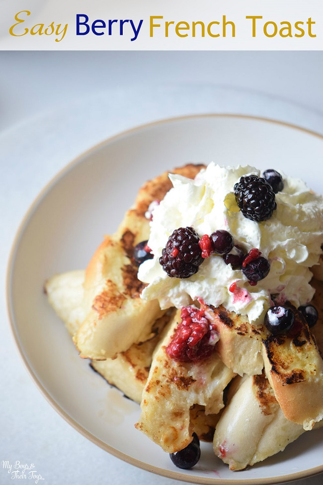 easy berry french toast